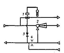 Схема теплового пункта жилого дома при открытой системе теплоснабжения.jpg