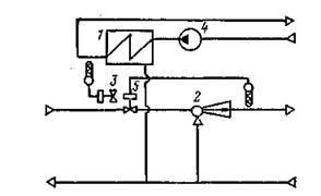 Схема теплового пункта жилого дома с параллельным включением подогревателя горячего водоснабжения.jpg