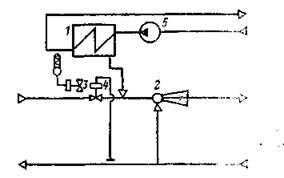 Схема теплового пункта жилого дома с предвключенным подогревателем горячего водоснабжения.jpg
