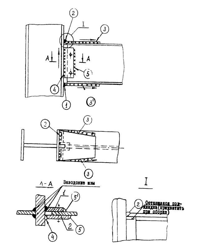 Технология сборки и сварки колонн