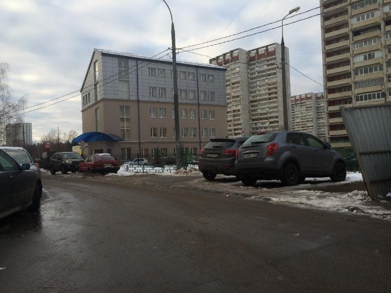 5-ти этажное здание в Зеленограде, построенное на месте ЦТП
