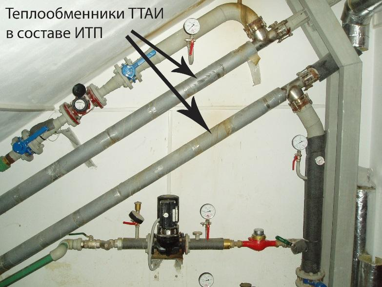 Модуль приготовления ГВС